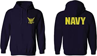 US Navy Seal United States of America American Combat Soldier Front and Back Hoodie
