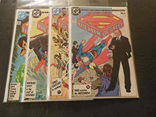 4 Iss Superman The Man Of Steel #1-4 1986 Copper Age DC Comics