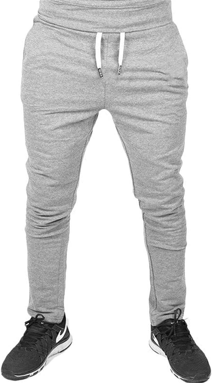 Men's Linen Cotton Loose Fit Casual Lightweight Elastic Waist Summer Pants Sweatpants Trousers (Small,Light Grey)