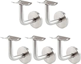 f/ür Treppe /& Edelstahl Gel/änder PRIOstahl Handlaufhalter//Handlauftr/äger//Handlauf /Ø 42,4 mm//mit Gelenk