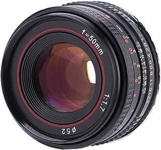 Vbestlife Lente de la cámara, 50mm f1.7 Lente Manual de Retrato de ...