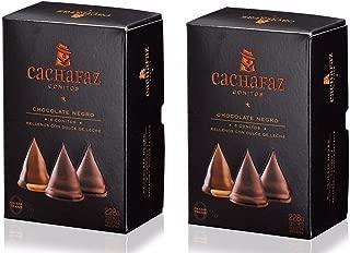 CACHAFAZ Conitos de Chocolate 228 gr. - 2 Pack | Milk Caramel Filled Bonbon Covered w/Chocolate 8.04 oz. (Box of 6) - 2 Pack.