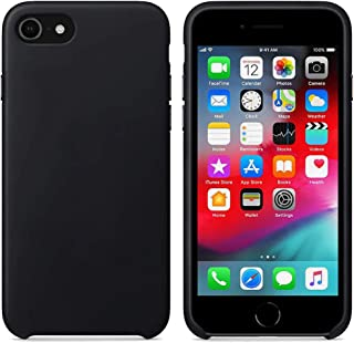 Matte Smooth, Soft flexible Cover, Soft Fur Lining (Microfiber) Style, TPU Case For Apple iPhone 7 / iPhone 8 / iPhone SE_...