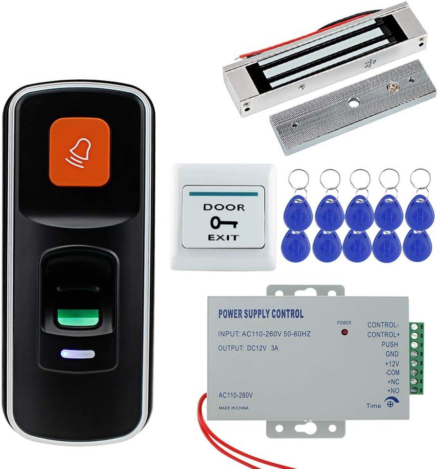 HFeng Fingerprint RFID Bargain Access Control Max 86% OFF Door Kit Biometric System