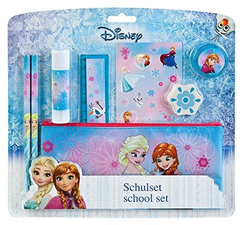 Undercover FRZH6454 - Disney Frozen, Schulset, 8-teilig