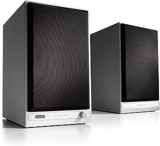 Audioengine HD6 150 W Aktywne Głośniki Bezprzewodowe   Wbudowany 24-bitowy Przetwornik Cyfrowo-Analogowy USB i Wzmacniacz ...