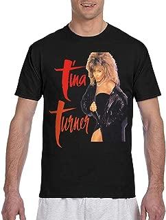 Tina Turner - World Tour Man Musical Double Sided Printing T-Shirt