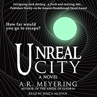 Unreal City audiobook cover art