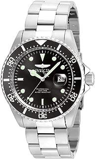 Men's 'Pro Diver' Quartz Stainless Steel Casual Watch (Model: 22047)