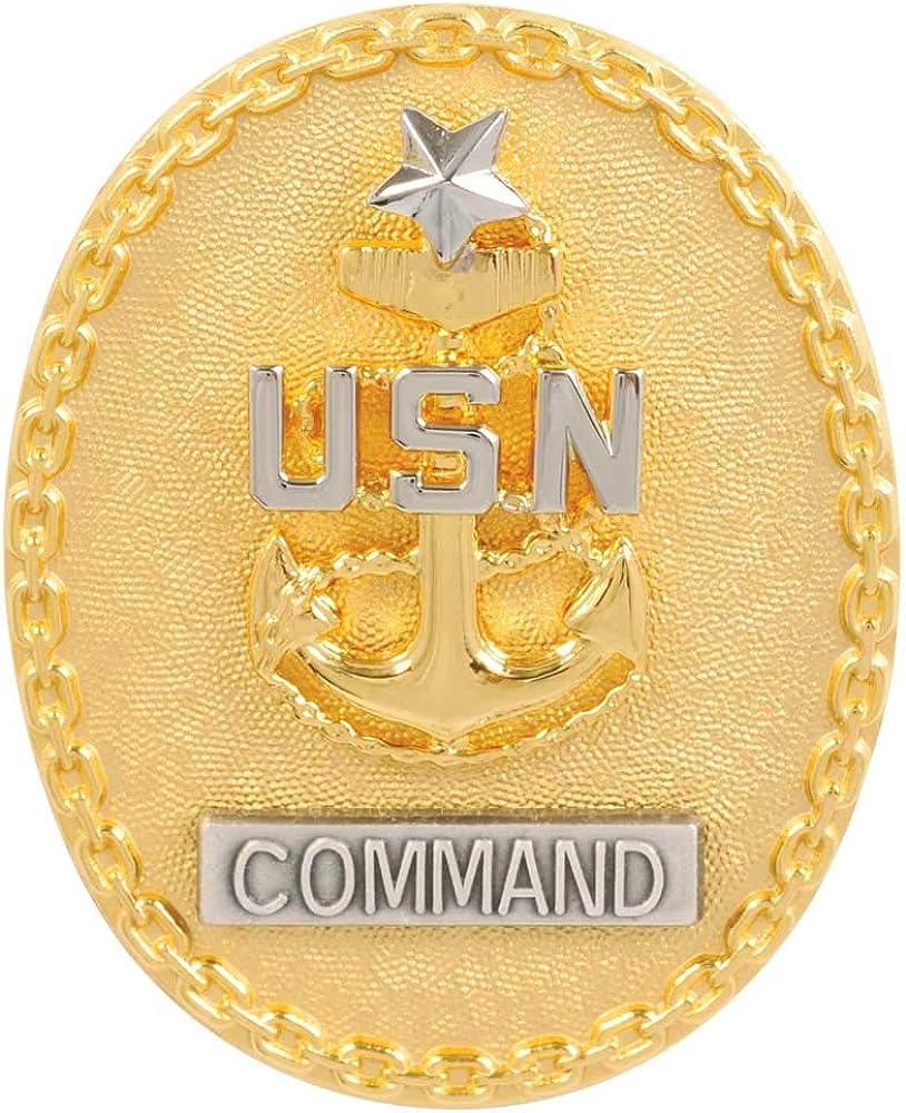 Navy ID Badge Senior Enlisted CPO E8 25% OFF Advisor Sale Command