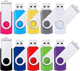 32GB USB 2.0 Flash Drive Pnstaw Swivel Memory Stick Thumb...
