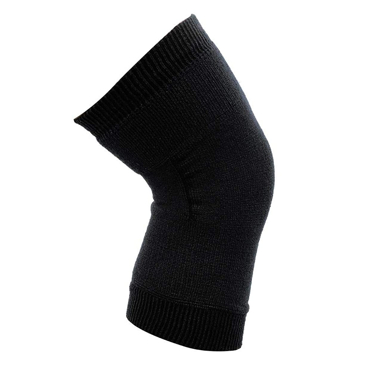 に変わる精神医学フェデレーション膝関節のサポート - 膝のサポート、大人の膝パッドのサポートダブル膝のサポート - 膝セットロッククライミングジョギングバレーボール乗馬膝の負傷者男性と女性1ペア(ブラック)