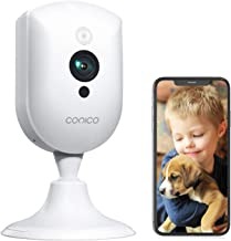 Baby Monitor, Conico 1080P Wireless Security Home Camera System with Sound Motion Detection IR Night Vision/2- Way Audio 8...