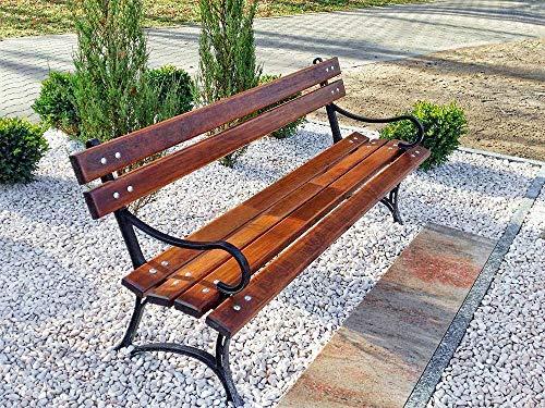 Krakwood Banco de jardín al aire libre, muebles de patio, porche, silla...
