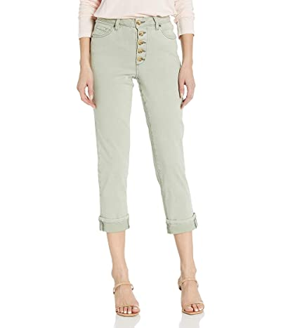 Jag Jeans Joan Straight Button Fly Crop Pant