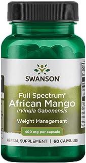 Sponsored Ad - Swanson Full Spectrum African Mango (Irvingia Gabonensis) 400 Milligrams 60 Capsules