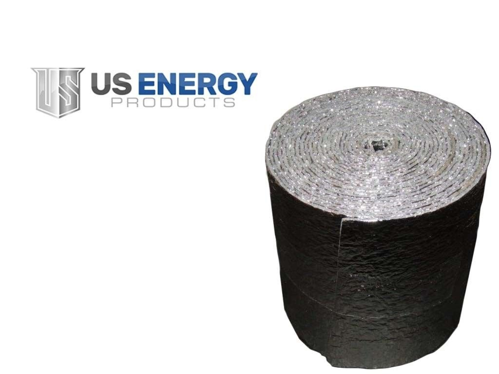 Reflective Foam Core Sill Seal Insulated Aluminum Foil Spiral Duct Pipe Wrap Roll 6
