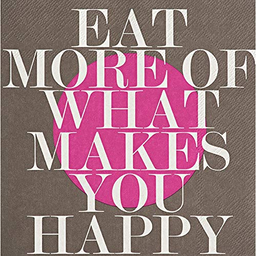 Ruedas Servilletas Eat More of What Makes