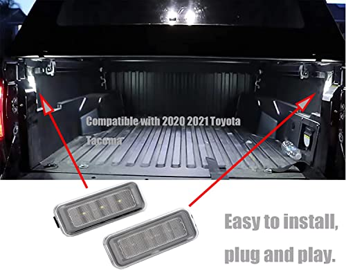new arrival Gelunxin Truck Led Bed Light Car wholesale outlet sale Trunk Lighting Kit Compatible with 2020 2021 Toyota Tacoma Replaces# PT857-35200 84267-0C020 sale