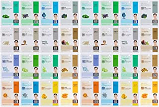 Dermal Korea Collagen Essence Full Face Facial Mask Sheet 32 Combo Pack