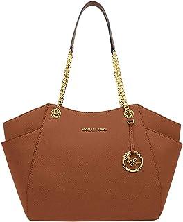 Michael Kors bolso de viaje Jet Set para mujer, bolso grande con cadena para el hombro