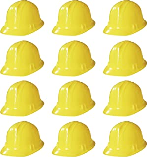 قبعات الحفلات المبتكرة مكان الإنشاء - قبعات ناعمة للأطفال والكبار (عبوة من 12)