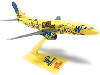 Western Pacific Simpsons Boeing 737-300 Airplane Miniature Model Snap Fit 1:200 Part