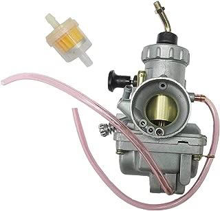 High Performance Carburetor For Suzuki LT250E LT250EF Quadrunner 250 1985 1986 1987 Replacement ATV Carb w/Fuel Filter