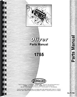 New Oliver 1755 Tractor Parts Manual