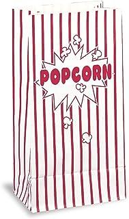 Unique Paper Bags 10-Pieces Paper Bags, Popcorn, Popcorn