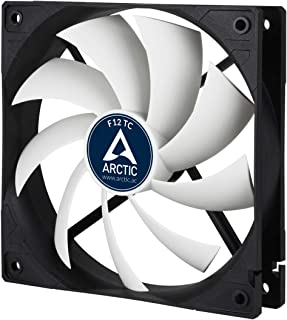 ARCTIC F12 Silent Case Fan, Extra quiet motor, Computer, Almost inaudible, Push- or Pull Configuration 120 mm - F-Series A...