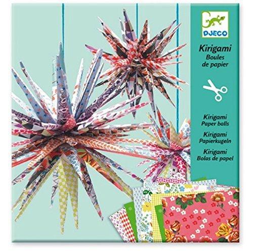 Kirigami Papierkugeln