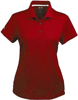 adidas Golf A131 Ladies Climalite Pique S-Sleeve Polo