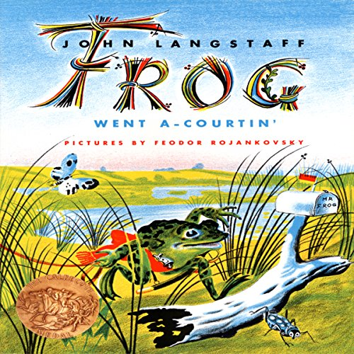 Frog Went A-Courtin' audiobook cover art