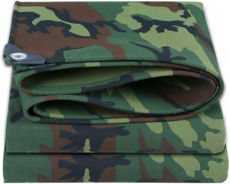 HongTeng Tarp Tarpaulin Cover Rainproof Thicken Reinforced, Camouflage, Multiple Sizes, 500G   M2 (Size   2x1.5m)