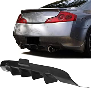 Best rear diffuser g37 Reviews