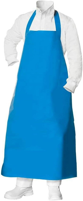 Metzgerschürze Metzgerschürze Metzgerschürze Gummischürze Fleischerschürze 130 cm blau Metzger Schürze NEU B00Q5QX18Q f7cdcd