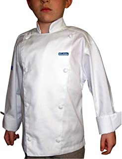 CHEFSKIN Personalizable Customizable Embroidered Name Kids Children Chef Jacket Custom Embroidery