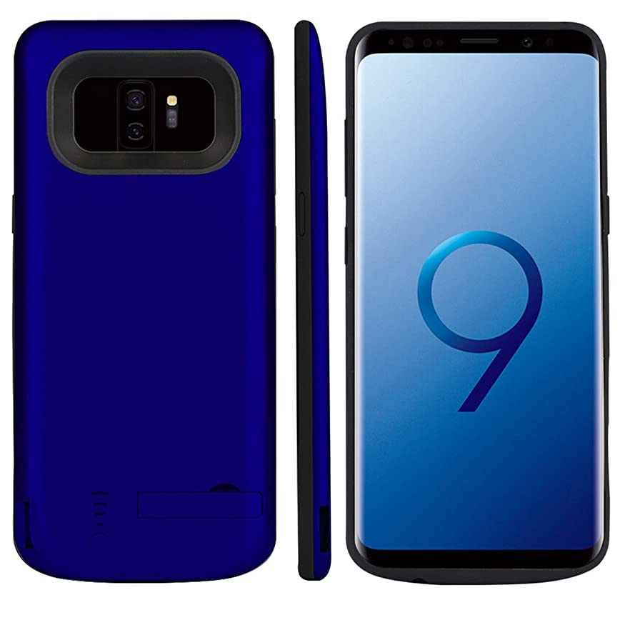 それにもかかわらずシソーラスポークHappon Samsung Galaxy S9 Plus ああ超薄型電池ケースカバー携帯電話ケース[滑り止め] [耐衝撃]電池ケース内蔵電池 Samsung Galaxy S9 Plus