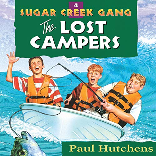 The Lost Campers audiobook cover art