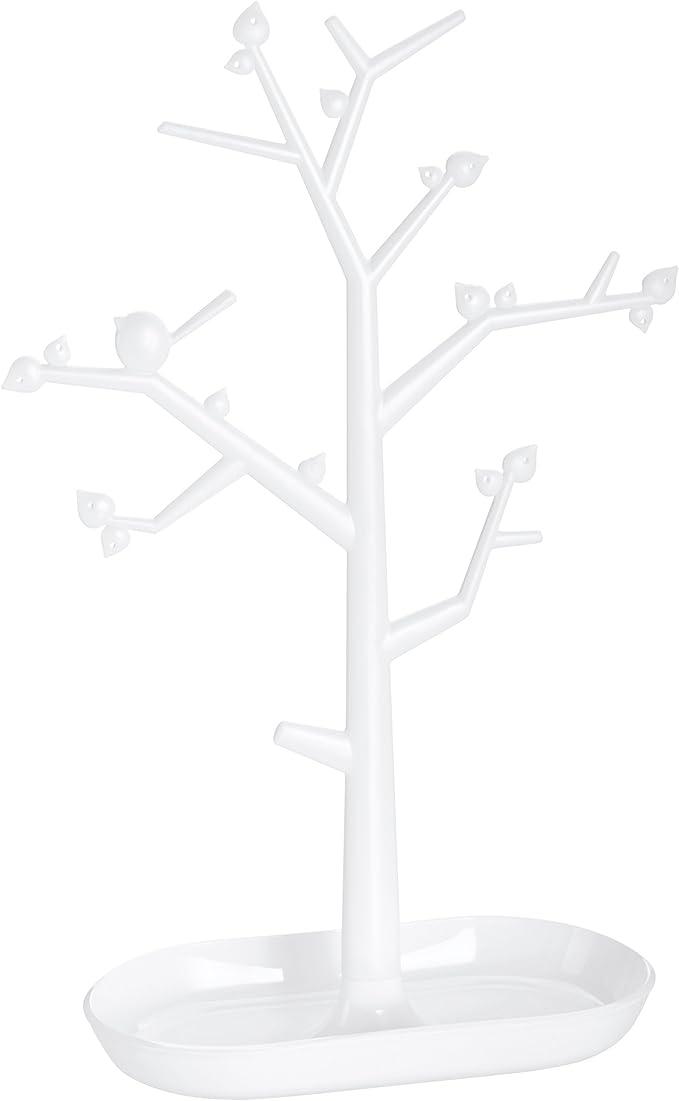 Koziol pi:p M Estante para Adornos, Sostenedor de Adornos, Sostenedor, Verde Mostaza con Transparente Verde Oliva, Al 30.6 cm, 5260105