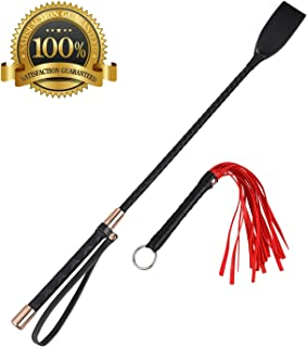 Best short leather whip Reviews