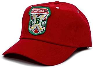 Bushwood Hat Country Club Caddyshack Movie One Size Baseball Cap Red