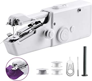 Handheld Sewing Machine, Cordless Handheld Electric Sewing Machine Quick Handy Stitch for Home or Travel