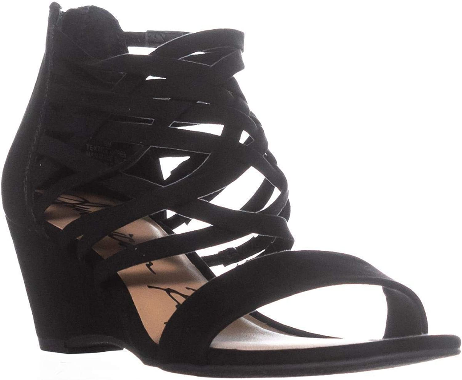 American Rag Womens Adora Microsuede Strappy Wedge Sandals