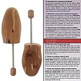 Bama Schuspanner aus aromatischem Zedernholz Schuhspanner, Beige/farblos, 44/45 EU - 6