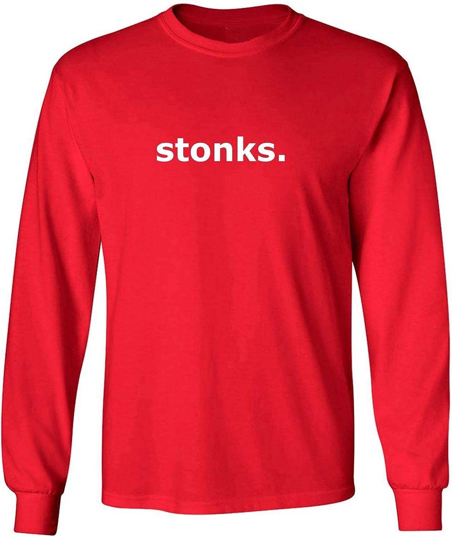 zerogravitee stonks Adult Long Sleeve T-Shirt
