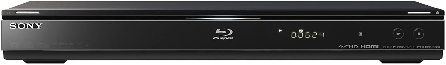 Sony BDP-S360 1080p Blu-ray Disc Player (2009 Model)