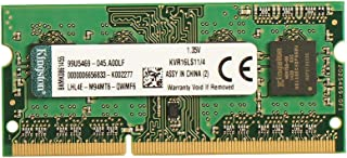 Kingston DDR3L 4GB 1600Mhz 1.35V CL11 Notebook Laptop Memory(KVR16LS11/4GB)