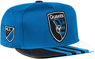 adidas San Jose Earthquakes MLS 2017 Authentic Team Performance Snap Back Hat